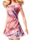 Papusa Barbie cu rochita inflorata