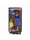 Papusa Barbie Fashionistas, cu hainute de schimb