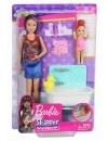 Papusa Barbie - mama, bebelus, accesorii