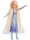 Frozen 2 - Papusa Elsa cu par lung pentru impletit