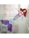 Papusa printesa Ariel dezvaluie curcubeul
