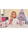 Papusa Steffi Love cu rochita cu paiete si model Hello Kitty