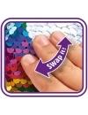 Papusa Steffi Love Swap - in rochita violet, cu paiete reversibile 29 cm