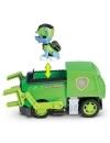 Patrula Catelusilor set masina de reciclare cu figurina Rocky