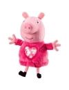 Peppa Pig - Jucarie de plus cu sunete 'Pijama Party' 18cm
