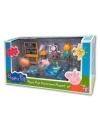 Peppa Pig  - Set 'Hai sa mergem la scoala!'  (include 7 figurine)