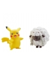 Pokémon Battle Mini Figures 2 Pack Pikachu & Wooloo 5 cm