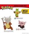 Pokemon Battle 3 Pack - Grookey, Stufful and Marowak 3-6 cm