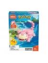 Pokemon Mega Set Constructie Slowpoke 80 piese (Aprilie)
