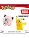 Pokemon, Jigglypuff & Pikachu minifigurine 3-5 cm
