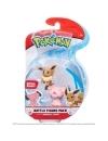 Pokemon, Snubbull & Eevee minifigurine 3-5 cm