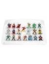 Set 20 de figurine metalice cu eroii DC Universe si figurina Flash inclusa