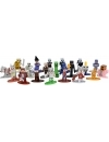 Set figurine metalice Minecraft Dungeons 20-Pack Nano, 4 cm