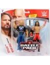 Set figurine Stone Cold Steve Austin & AJ Styles - WWE Battle Packs 67