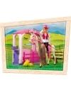 Set papusa Steffi cu cal si grajd