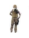 Soldat ranit cu accesorii 30 cm (Special Forces Military Army)