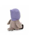 Sonya, bufnita cu caciula  violet, din plus, 25cm