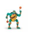 Testoasele Ninja figurina Michelangelo sare peste cap