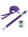 Testoasele Ninja - joc de rol Donatello cu accesorii