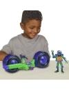 Testoasele Ninja - vehicul cu figurina Donatello