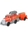 Thomas & Friends - Locomotiva cu vagon push along Flynn