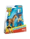 Toy Story, Set figurine Woody & Bullseye