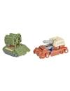 Transformers Siege Autobot Battle Patrol  (Topshot & Flak) 4cm