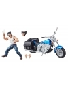 Ultimate Marvel Legends Wolverine cu motocicleta
