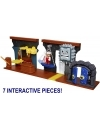 World of Nintendo Deluxe Dungeon Playset 14 piese