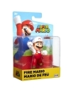 World of Nintendo, minifigurina Fire Fist Bump Mario 6 cm