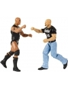 WWE Tough Talkers Figurina  Stone Cold Steve Austin & The Rock  15 cm