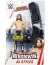 WWE Wrekkin' Figurina de actiune AJ Styles, 15 cm