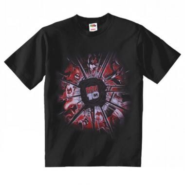Ben 10 - Tricou negru 7-8 ani