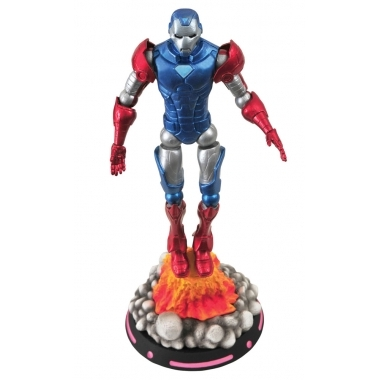 Marvel Select, Figurina What If Captain America, 18 cm