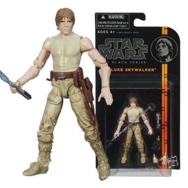 Figurina Luke Skywalker, Black Series 10 cm