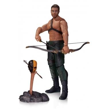 Arrow, Figurina Oliver Queen & Totem 18 cm
