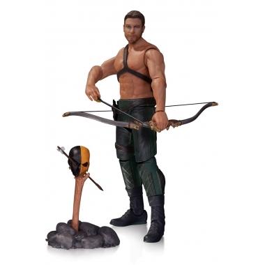 Arrow, Figurina Oliver Queen & Totem 18 cm