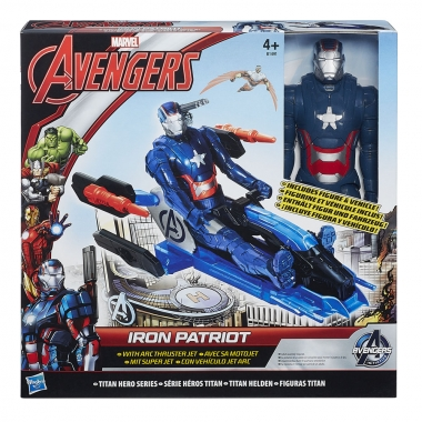 Iron Patriot cu vehicul,  Arc Thruster Jet