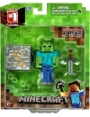 Minecraft, Figurina articulata Zombie 8 cm