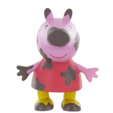 Minifigurina Peppa Pig On The Mud, 6 cm
