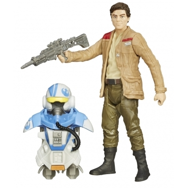 Star Wars Episode VII, Poe Dameron Armor Up 10 cm