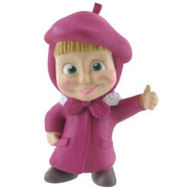 Masha and the Bear, Mini Figurina Masha Painter 6 cm
