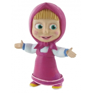 Masha and the Bear,  Mini Figurina Masha 6 cm