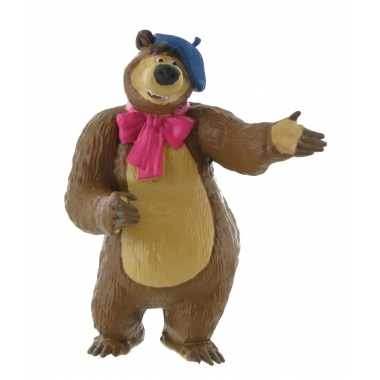 Masha and the Bear Mini Figurina Bear Painter 8 cm