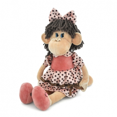 Lulu the Monkey, jucarie de plus 25 cm