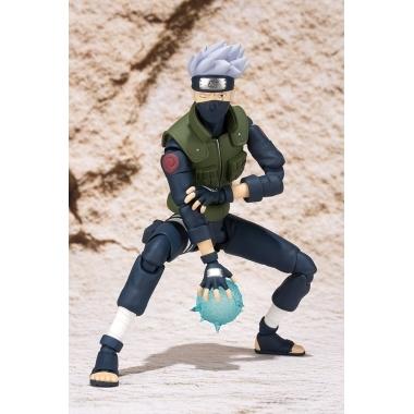Naruto, Figurina Hatake Kakashi superarticulata cu accesorii 15 cm