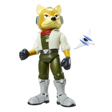 Fox McCloud, Figurina arituclata 10 cm cu accesorii