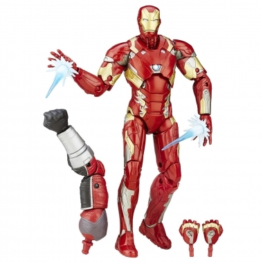 Figurina Iron Man Mark 46, Movie Civil War 15 cm
