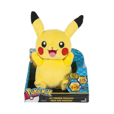 Pokemon Talking Plush Figure Pikachu 30 cm