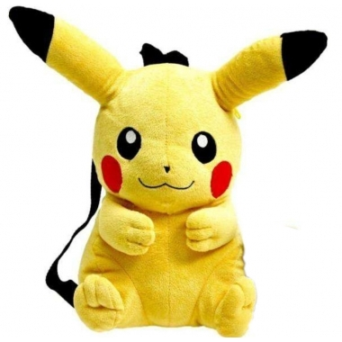 Pokemon Plush Backpack Pikachu 30 cm